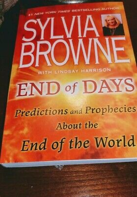 End Of Days By Sylvia Browne Paperback Book
