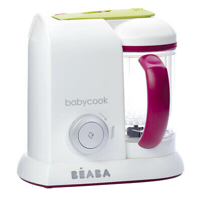 Beaba Babycook Solo Baby Food Processor Steam Cook Blend - Plum