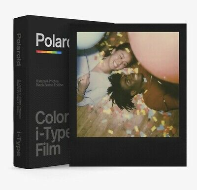 Polaroid Originals B&W BLACK FRAME Instant Film for i-Type OneStep+ One Step 2