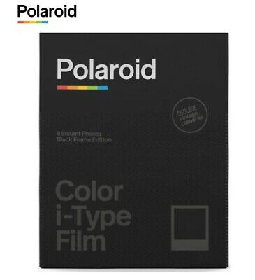 Polaroid Originals B&W BLACK FRAME Instant Film for i-Type OneStep+ plus US