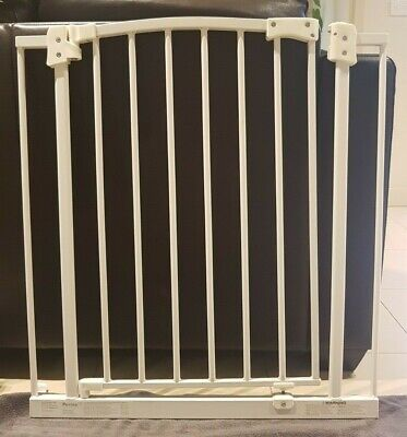 Perma Child White Safety Gate WITH 20cm EXTENSION
