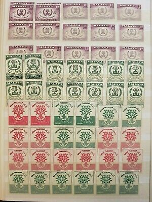 Teamatic Refugees Worldwide Dealer Stock Stamps Collection  M/S Mnh Lot#10