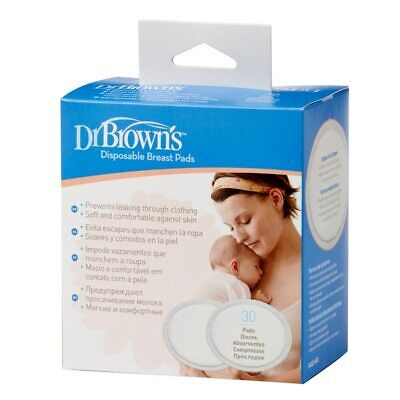 Dr Brown's Disposable Breast Pads 30 Pack