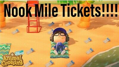 Nook Miles Tickets x 200 [Animal Crossing New Horizons Switch] Nook Mile Tickets