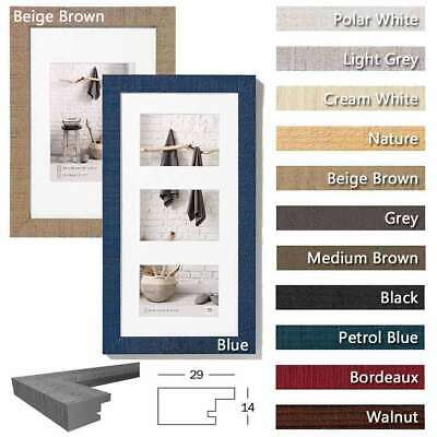 Walther Home Wooden Picture Frame - Lots of Sizes and Colours