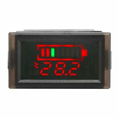 DROK Waterproof LED Digital Battery Volt Meter DC 12V 24V 36V 48V 60V 64V 72V...