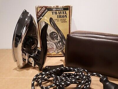 Vintage GILFORD TRAVELLING CLOTHES  IRON ... Made in Australia As New with box