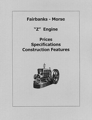 Fairbanks Morse Z Engine Prices, Specs. and Features