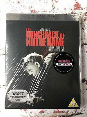 The Hunchback Of Notre Dame HMV Exclusive Blu-Ray Charles Laughton