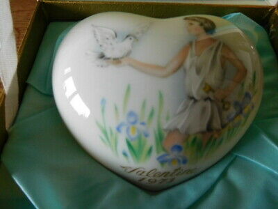 Noritake KITTENS Valentines Day Heart 1980 1985598