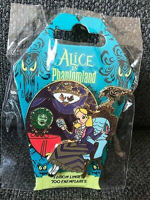 PIN Alice Leota Phantom Manor AUTHENTIC Phantomland event Disneyland Paris RARE