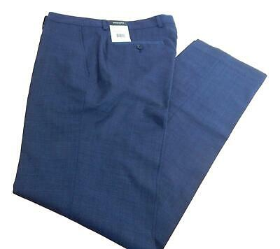 NWT Men's Kenneth Cole Wool Blend Flat Front Suit Separate Dress Pants