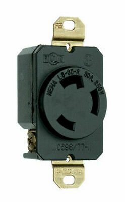 Pass & Seymour Legrand L630-r Turnlock Receptacle 30a 250v
