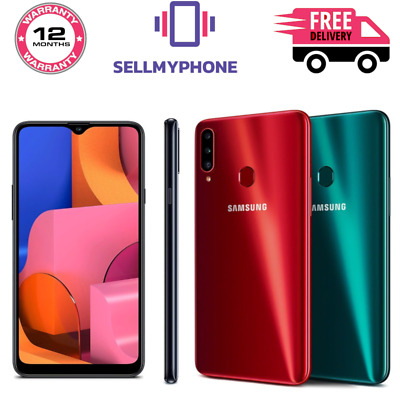 """New Samsung Galaxy A20s 32GB 4G LTE 6.5"""" DualSim Unlocked Android Smartphone"""