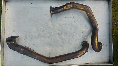 Ducati 748 E R 916 Exhaust Header Pipes Stubs  Vertical Horizontal Manifolds