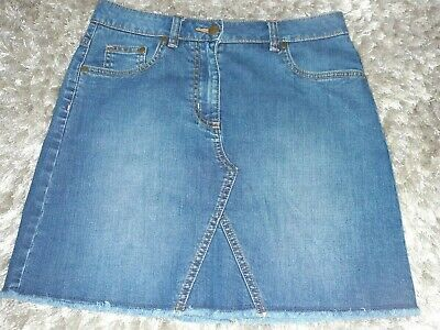 Johnnie B Boden Girls Denim Skirt Size 13-14 Years Height 164Cm