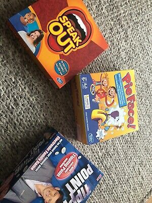 Hasbro Gaming - Speak Out - Family Board Game -New &Sealed