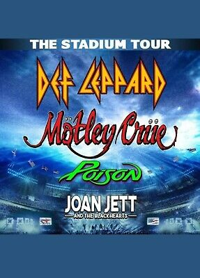 2 tickets for field seats (Motley Crue, Def Leppard, Poison, Joan Jett) Wrigley