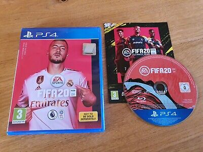 Ps4 - Fifa 20 ☆☆☆ Excellent Condition - Fast Post ☆☆☆