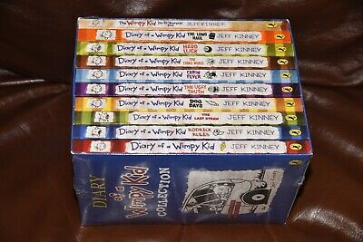 Diary of a Wimpy Kid Box Set Collection (10 Books) NEW AND SEALED rrp £69
