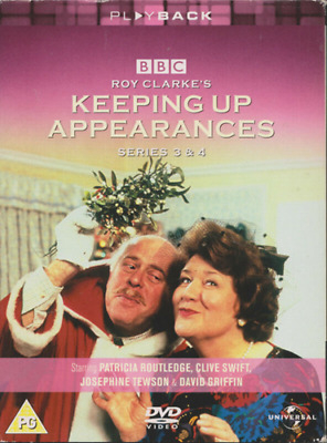 Keeping Up Appearances - Series 3 & 4 (DVD) Patricia Routledge