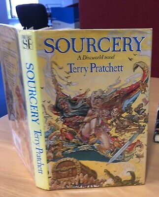 SOURCERY byTerry Pratchett 1st/1st (1988, Hardcover)