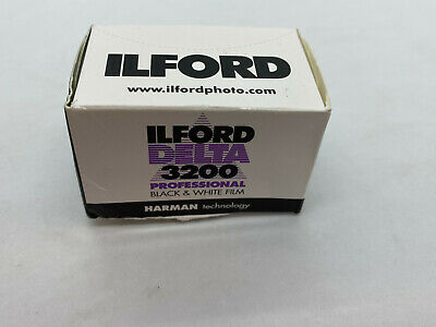 ILFORD Delta 3200 B&W 35mm 36exp 135-36 Print Negative Film US