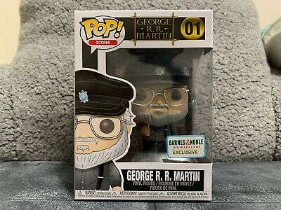 Funko Pop George RR Martin 01 Game of Thrones Barnes & Nobles Bookseller Exc