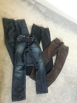 Boys NEXT Jeans & Trousers Bundle Age 6-7-8 Years