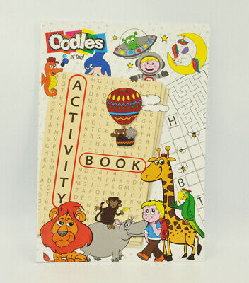 A4 Childrens Colouring Educational Activity Book - 40 Pages, Size 297 x 210mm