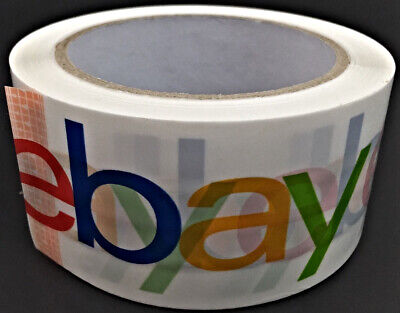 "2"" x 75 yards Classic - Official eBay Branded Packaging Tape - 1 Roll"