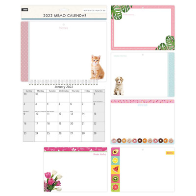 2019 / 2020 Year New Hanging Wall Calendar Family Monthly Planner Organiser