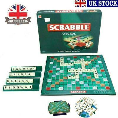 Kids Adult Games Original Scrabble Board Jigsaw Family Educational Toys Puzzle
