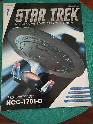 STAR TREK  .NO (1) MAGAZINE  ,eaglemoss .collection