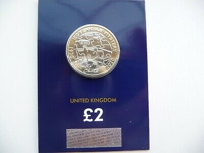 2020 £2 Two Pound BU Coin Agatha Christie Brilliant Uncirculated Certified Pack.