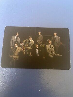 BTS Map of the Soul : 7 Official photocard - GROUP (Ver 3) - (Ship from USA)
