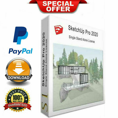 SketchUp Pro 2020 | Lifetime Activation For Windows | LATEST FULL VERSION