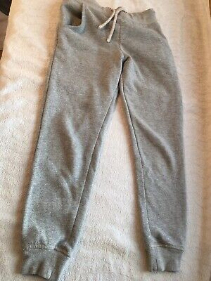 M&S Girls Grey Sparkle Jogging Bottoms. 7-8yrs. Gorgeous