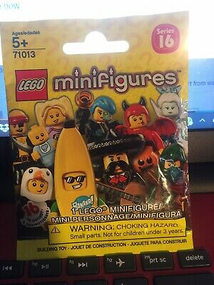 Minifigure series 16 LEGO: 71013 x3 RANDOM SEALED PACKS FREE P/&P