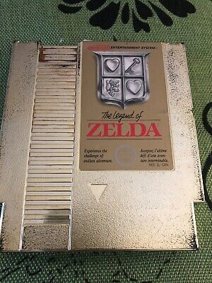 The Legend of Zelda (Nintendo Entertainment System, 1987) Cleaned Pins New Bat