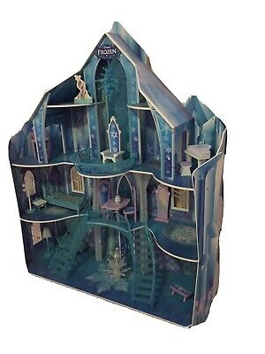 Frozen Castle 3 story Doll House, interactive, limited edition.