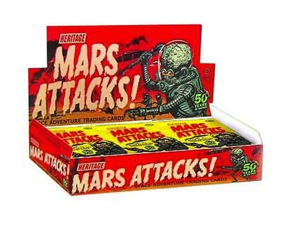Mars Attacks! Space Adventure Cards Bundle of 24 Packs