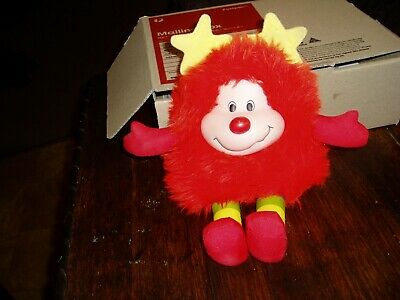 rainbow brite sprite romeo doll stuffed toy vintage 1983 plush bright