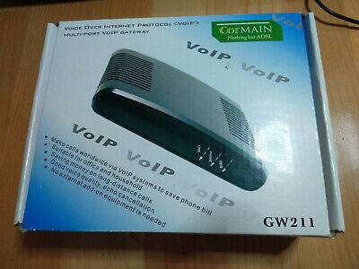 Cormain GW211 VoIP gateway with multi ports.