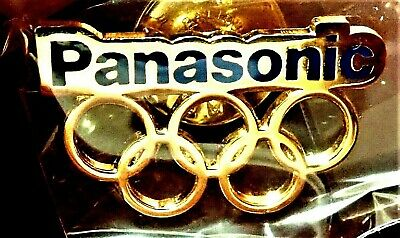 Tokyo 2020 Panasonic  Japan Olympic Games Collector Rings Pin Japanese