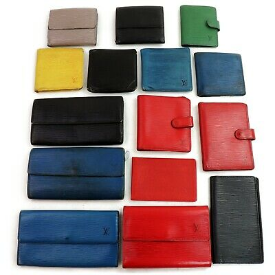 Louis Vuitton Epi Leather Wallet Diary Cover Card Case Card Case 15pc set 507455