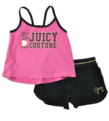 Juicy Couture Little Girls' Two-Piece Short Set 6X
