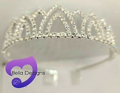 TIARA CROWN for Wedding, Dancing, Calisthenics, Flowergirl