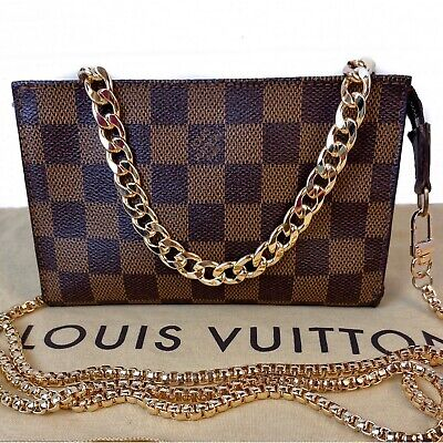 CERTIFIED AUTHENTIC LOUIS VUITTON Damier Pouch~US SELLER