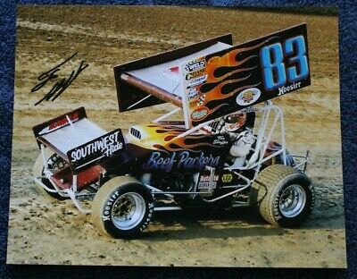Tim Shaffer-Roth Beef Packers #83 @ Eldora-Autograph World Of Outlaw Photo